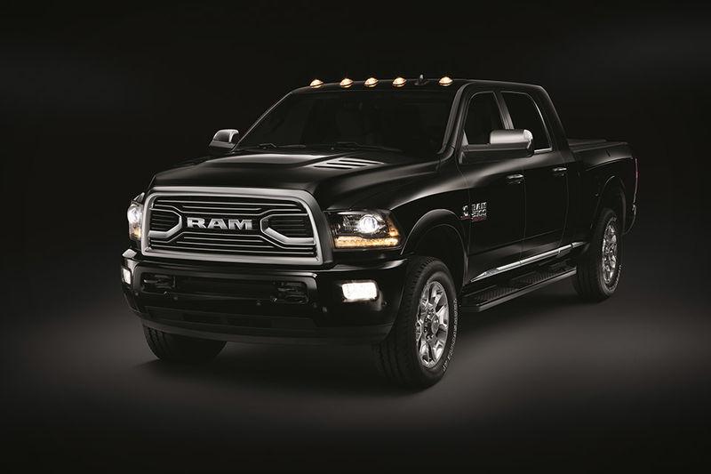 luxury pickup trucks  ram limited tungsten