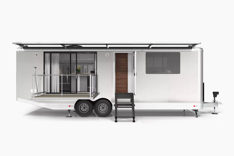 Luxury Solar-Powered Trailers