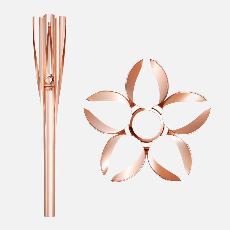 Cherry Blossom-Inspired Torch Designs