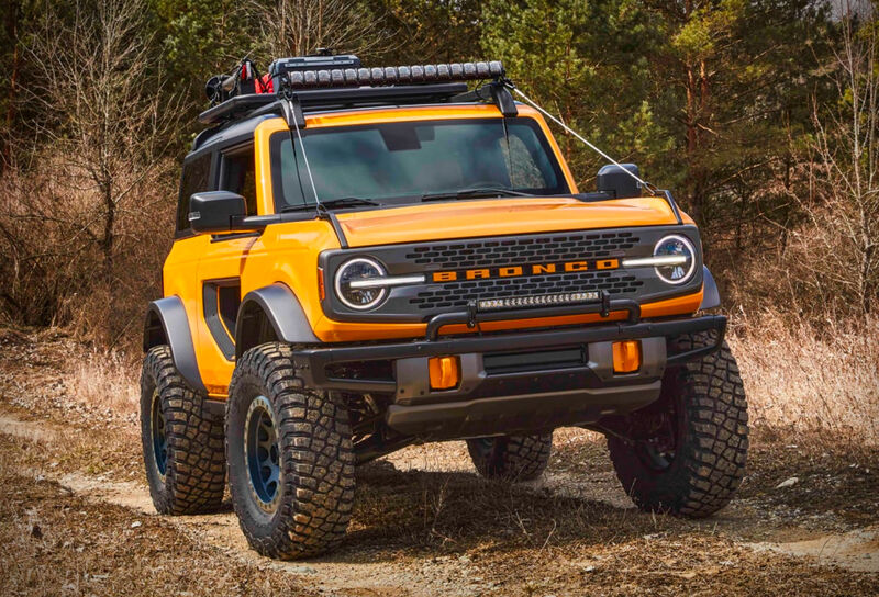 Revived American SUV Models : 2021 Ford Bronco