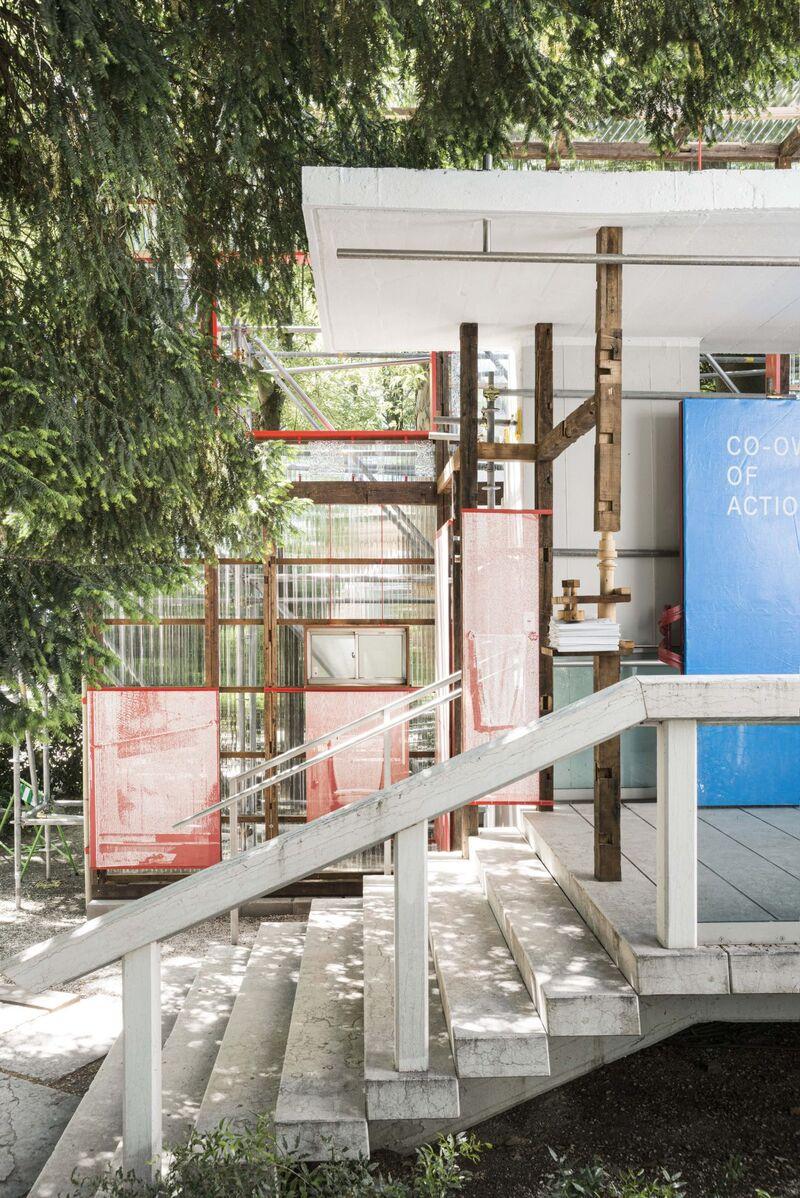 Material Reuse-Exploring Pavilions