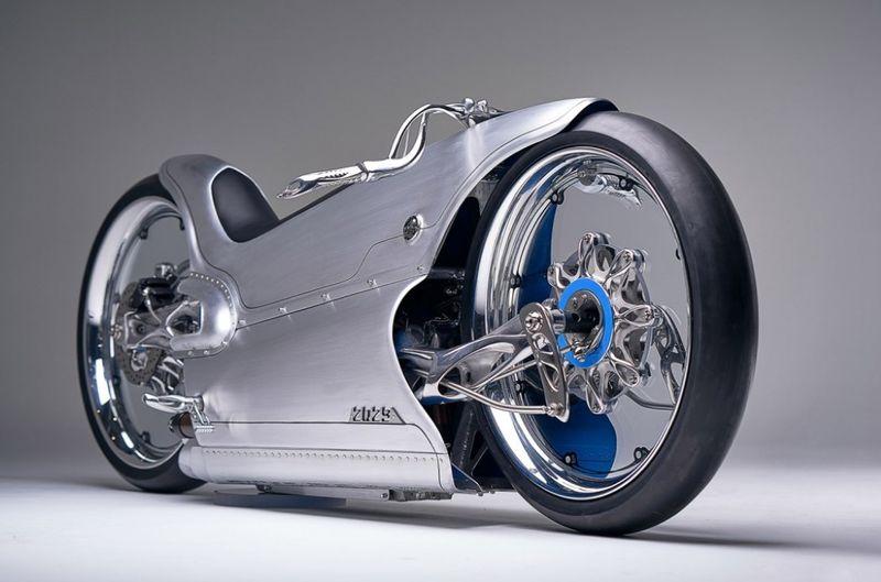 Custom Retro Futurism Motorcycles