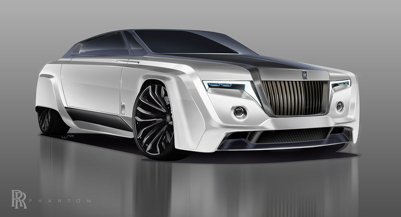 Futuristic Luxury Coupe Concepts