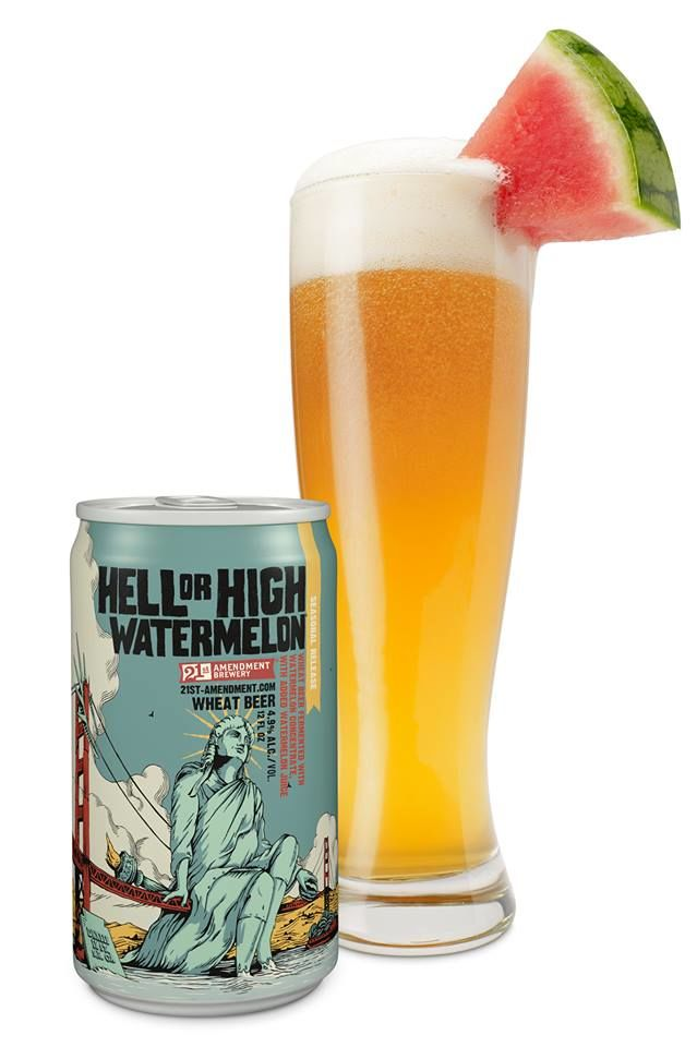 Watermelon Wheat Beers