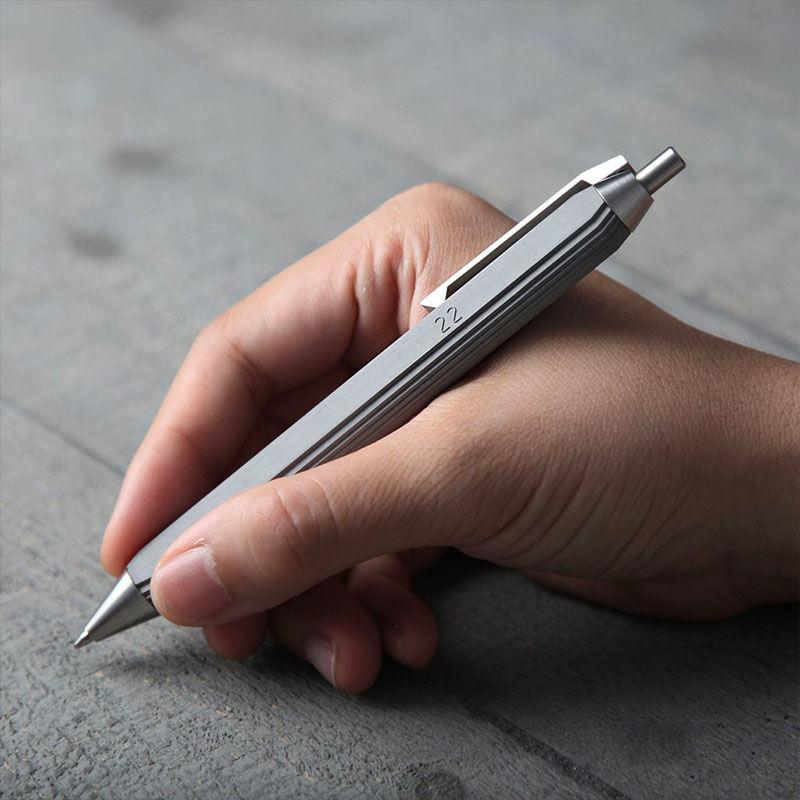Adaptive Concrete Ballpoint Pens