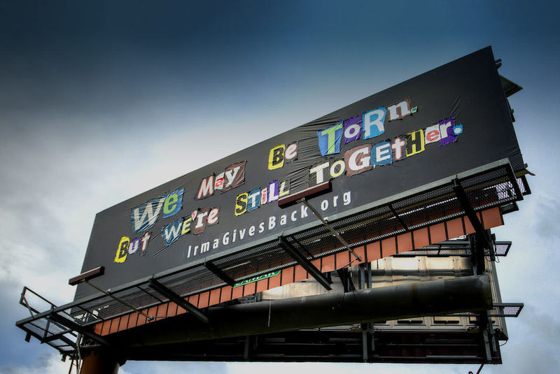 Charitable Broken Billboard Campaigns