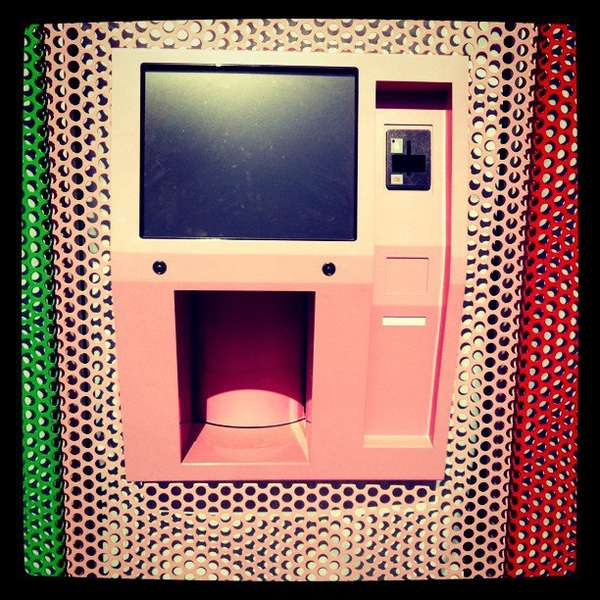 Colorful Cupcake ATMs