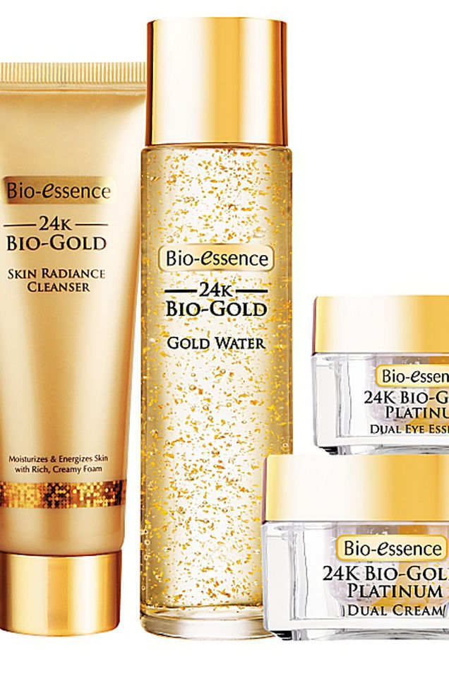 Luxurious Golden Skin Creams
