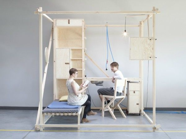 Modular Mobile Living Spaces