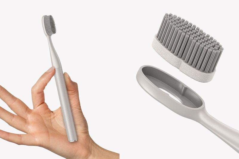 Replaceable Component Toothbrushes