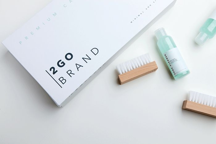 Minimalistic Cleaning Product Packaging