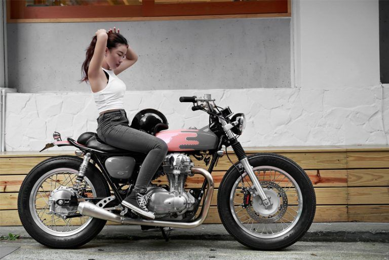 Femininely Detailed Motorcycles