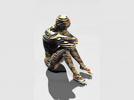 3-D Paper Figurines
