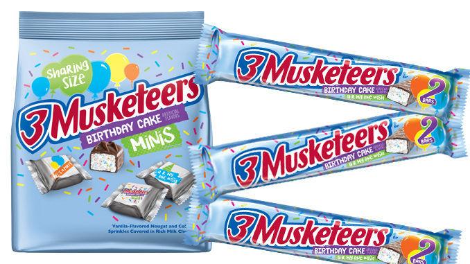 Birthday Dessert Candy Bars 3 Musketeers Birthday Cake