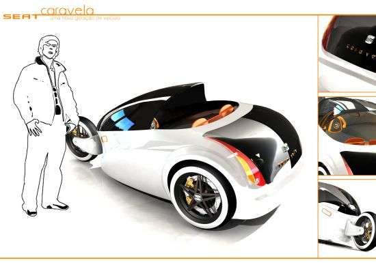 3 Wheeler Hydrogen Cars The Caravela Concept Powered By