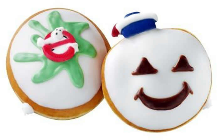 Ghoulish Anniversary Donuts