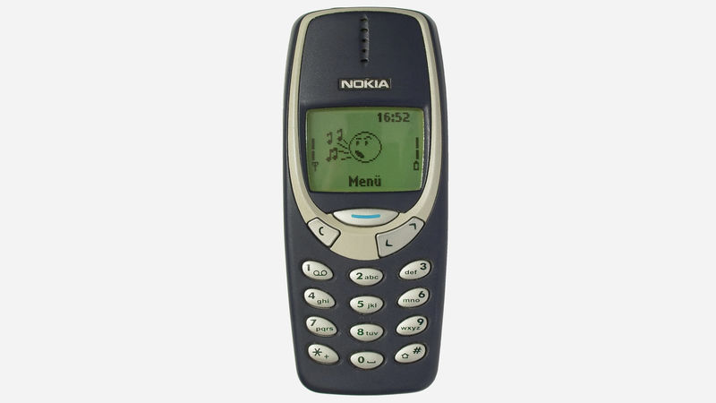 Re-Released Retro Cell Phones
