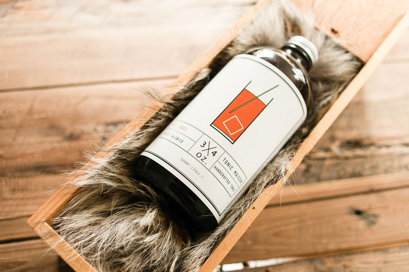 Rustic Syrup Packaging