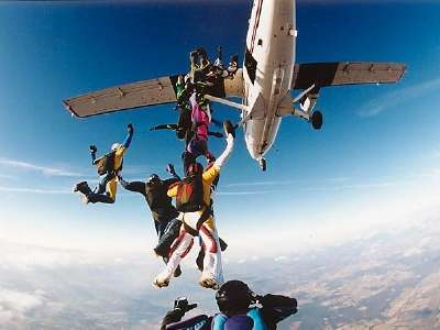 Skydiving Mount Everest