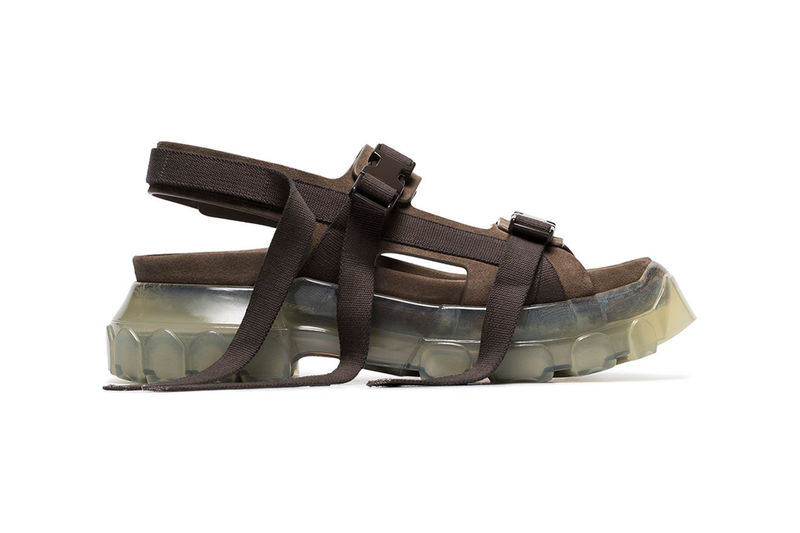 Clear-Soled Tractor Sandals