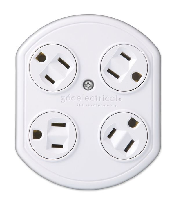 Rotating Quadrangular Outlets