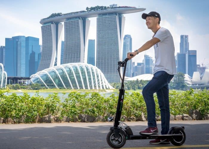 Speedy Extended Range Scooters