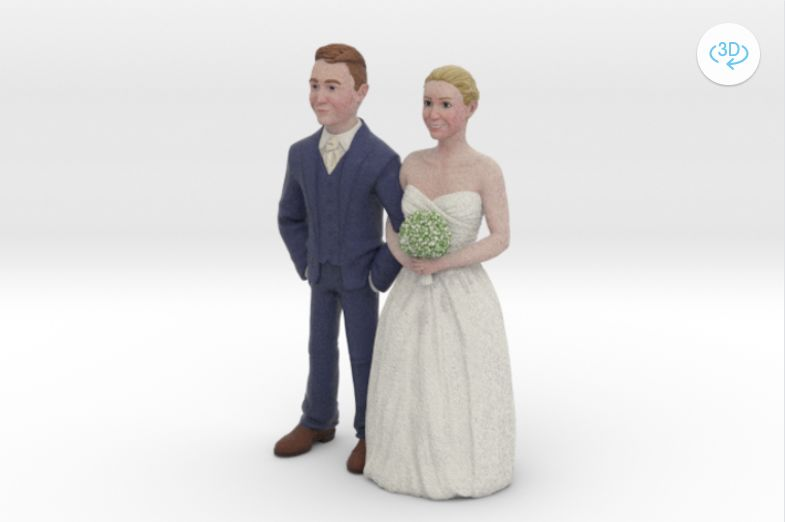 3D-Printed Cake Toppers