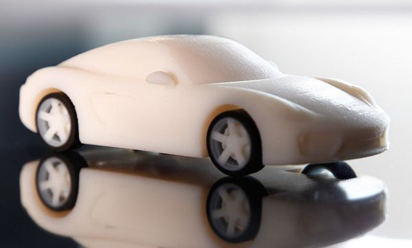 Miniature 3D-Printed Luxury Cars