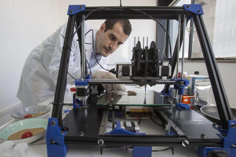 3D-Printed Plant-Based Steaks