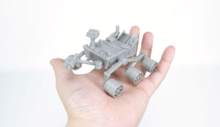 3D-Printed Rover Models