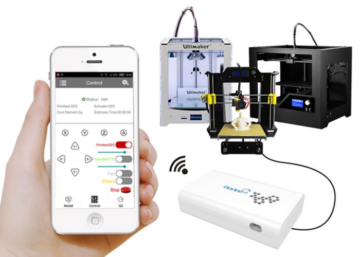 3D Printer Smartphone Adapters