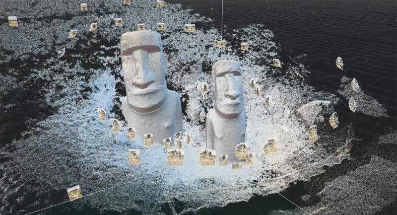 History-Preserving 3D Scans