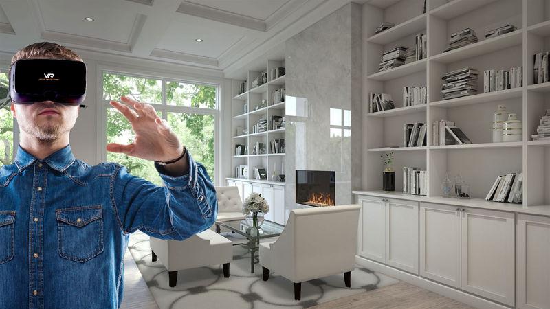 Realistic 3D Virtual Homes