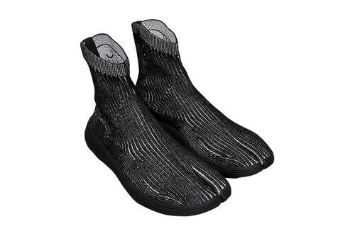 3D-Knit Silky Sneakers
