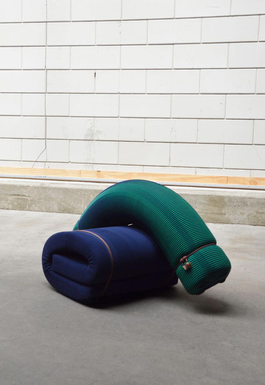 Sculptural 3D-Knitted Furniture