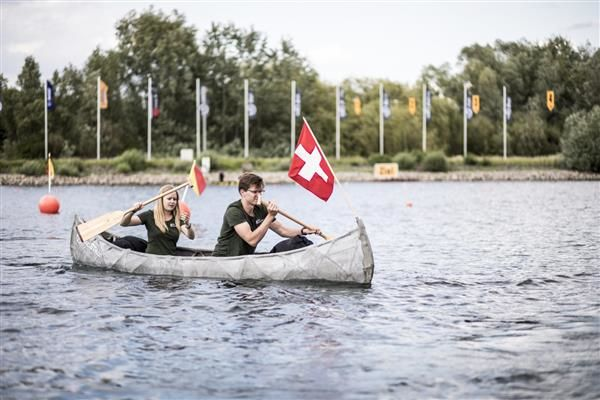 3D-Printed Concrete Canoes