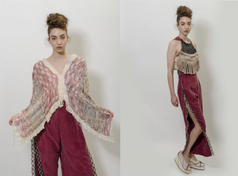Hybrid Hand-Woven Fashion