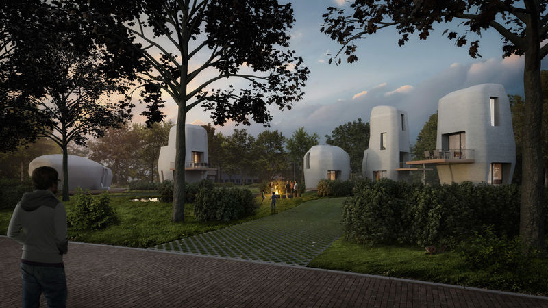 Commercial 3D-Printed Housing Projects