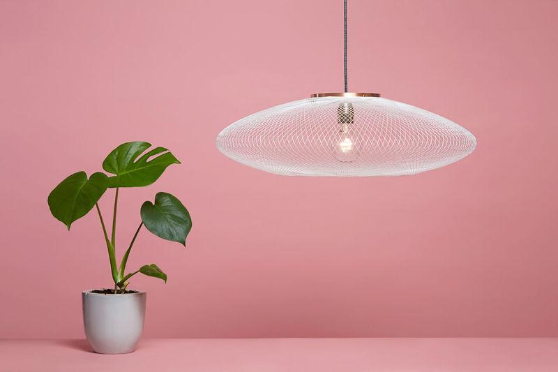 Robot-Woven Lamps