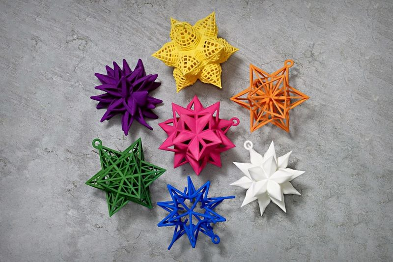 Industrial Design Holiday Ornaments