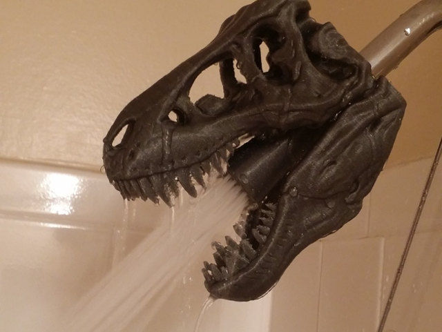 Dinosaur Shower Heads