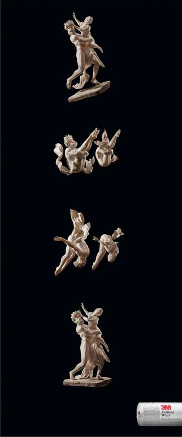 Acrobatic Porcelain Figurines