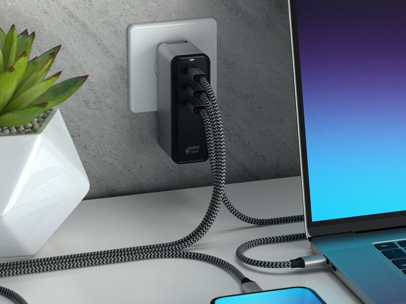 Certified Triple-Device Chargers