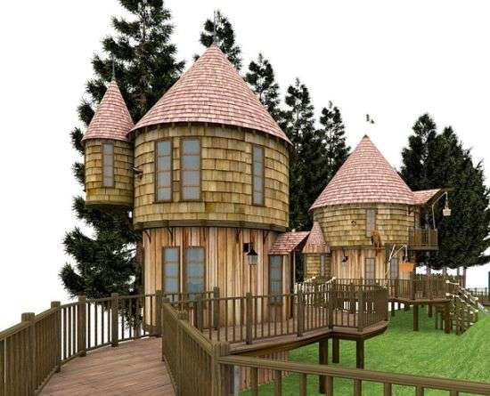 Sustainable Childhood Fantasy Homes