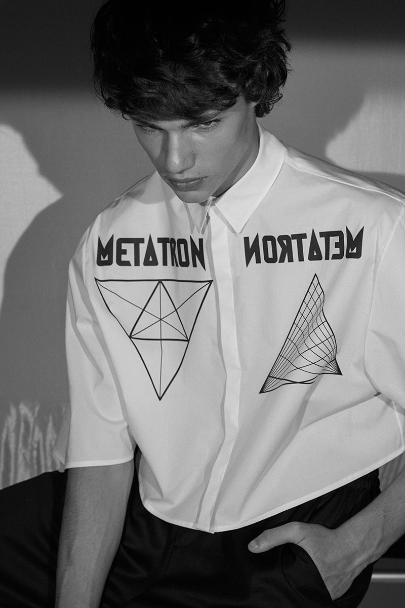 Geometric Menswear Designs