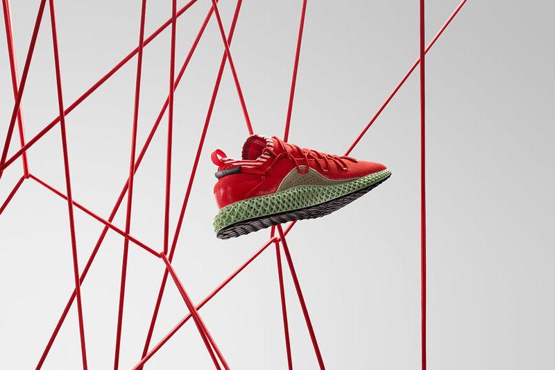 High-Tech Vibrant Running Shoes