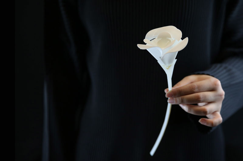 Self-Folding 4D-Printed Objects