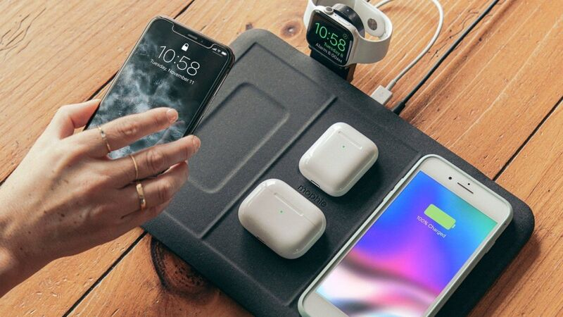 Wireless Quad-Device Chargers