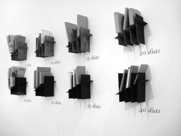 Tally Mark Bookshelves