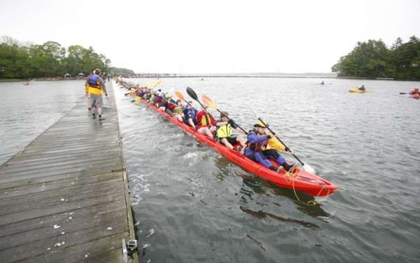 100-Person Paddle Boats
